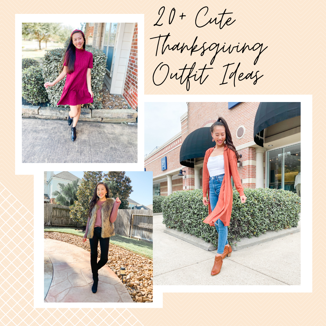 thanksgiving outfit ideas blog post